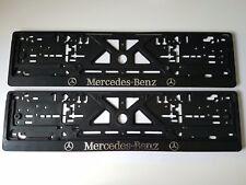 2 x  KFZ Kennzeichenhalter CHROME Mercedes-Benz  520x110mm