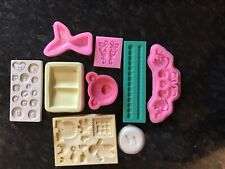 Job lot moulds sugarpaste