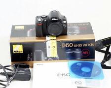 Nikon D D60 10.2MP Digital SLR Camera - Black (Kit w/ 18-55mm Lens)