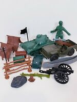 Tim - Mee Jeep Vintage Cannons Tank Tents Canoe Ammo Box Army assortment