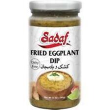 Sadaf Fried Eggplant Dip 12oz, Free Shipping, Lot of 4