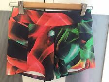 Blockout Sports Shorts/tights Med Size Multicolored