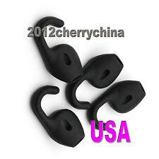 4pcs Ear bud Gel Earbuds Eargels Buds For Jabra stealth steel Black