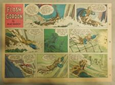 Flash Gordon Sunday Page by Mac Raboy from 9/23/1956 Half Page Size