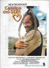 Jack Nicolson Spanish Movie Brochure-Camino Del Sur