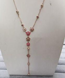 Pandora Kette 398074NCCMX_ROSE Peach Blossom Flower S925 ALE R