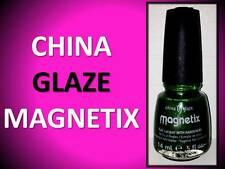 NEW!!! CHINA GLAZE MAGNETIX NAIL POLISH # 1162 CON-FUSED? 81145 GREEN / CONFUSED