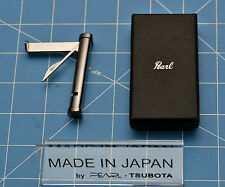 Tsubota Pearl Premium Pipe Tool Gunmetal Folding Tamper & Pick Seki City, Japan☦