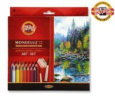 Koh-i-noor Mondeluz Coloured Aquarell crayons pencil 72pcs Original High Quality