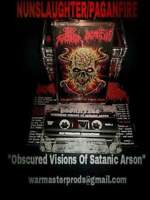 Nunslaughter vs. Paganfire-Obscured Visions...(Malaysia)-2016 Split Cassette-BM