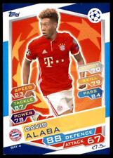 Match Attax Champions League 16/17 David Alaba Bayern München No. BAY4