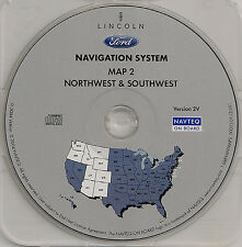 03 04 05 06 Ford Expedition Escape Navigation Map Cover: OR WA AZ CO NM UT ID WY