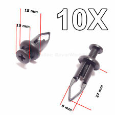 10X Bumper Cover Push Type Retainer Replacement clips for Toyota, Lexus
