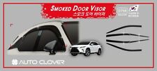 Smoke Tinted Weather shields 6pcs for 2015 - 2018 Lexus RX 200T 350 450H