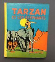 FOSTER. Tarzan et les éléphants n°4. Hachette 1938 EO. Très bel état
