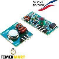 Module Transmetteur émetteur et Récepteur RF 433Mhz Fréquence Radio Sans Fil