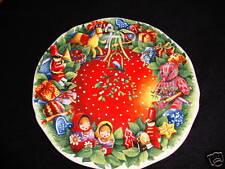 NEW GIEN 2008 CHRISTMAS JOYEUSES FETES DESSERT PLATE