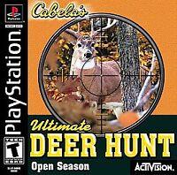 Cabela's Ultimate Deer Hunt: Open Season (PlayStation PS1) Disc Only - Tested!
