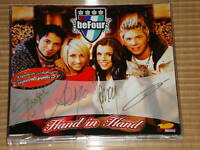 BEFOUR HAND IN HAND MAXI CD LIMITIERTE AUFLAGE SIEGNIERT & GRUSS BOTSCHAFT