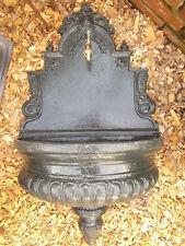 Wandbrunnen m. Hahn, Eisenbrunnen, Gussbrunnen, Gartenbrunnen, Zierbrunnen