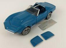 1968 Chevrolet Corvette 1989 Franklin Mint Precision Models Stigray Diecast Blue