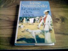 livre roman  Le maitre des ames irène némirovsky