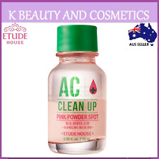 [Etude House] AC Clean Up Pink Powder Spot 15ml Acne Pimple Drying Lotion
