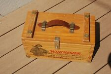 Winchester wooden ammo, hunting box -16x10x10 in.-wood ammo box