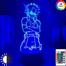 Katsuki Bakugo Academia My Hero ANIME 3D led Night Light/Desk Lamp  BNHA Figure