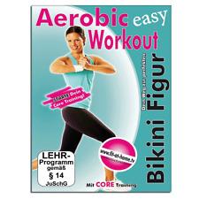 Fitness DVD - Easy Aerobic Workout - Dein Weg zur perfekten Bikini Figur - Neu