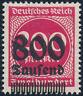 DR 1923, MiNr. 303 I, tadellos postfrisch, gepr. Infla, Mi. 70,-