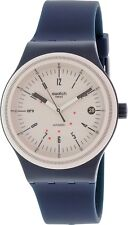 Swatch Men's Sistem51 SUTN400 Blue Silicone Automatic Watch