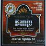 Cordes Ghs 5 Strings Banjo Light American serie J.D. Crowe Signature Inox PF140