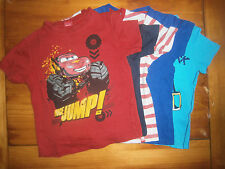Lot de 5 t-shirts pour garçon 4 ans Spiderman, Angry birds, Cars