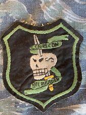 Vietnam War Theater Special Forces MACV SOG Green Beret Spike RT Crusader Patch