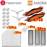 Xiaomi Roborock Parts Mop Cloths Wet Mopping filter Side Brush Roll Brush