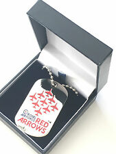 RAF Royal Air Force Red Arrows Pendant in gift box Official Product