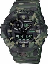 BRAND NEW CASIO G-SHOCK GA700CM-3A GREEN CAMO ANA-DIGI MENS SPORTS WATCH NWT!!!!