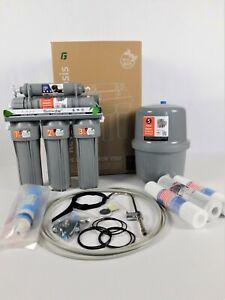 5 Stufen Umkehrosmose Anlage Wasserfilter Membran 75GPD Osmosefilter RO