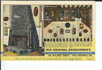 AY-139 - Old Original Bookbinder's Philadelphia Advertising Postcard Linen Vintg