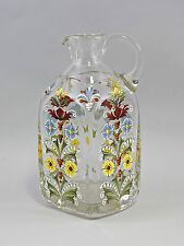 99835278 Glass Carafe Gift Jar Jug Email Painting