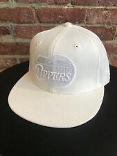 NEW REEBOK LOS ANGELES CLIPPERS LA FITTED HAT CAP RETIRED LOGO NBA HEADWEAR