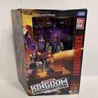 Transformers Kingdom Galvatron Leader Class War for Cybertron WFC-K28 Hasbro Htf
