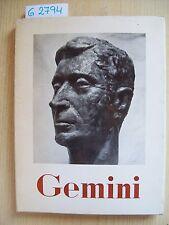 GEO RENATO CRIPPA - ANGELO GEMINI - IL POVERO BIBLIOFILO - 1962  dim. 22x29