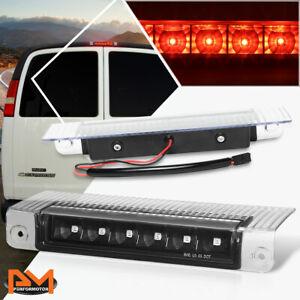 For 03-17 Chevy Express/GMC Savana LED Third 3RD Tail Brake Light/Lamp Bar Black