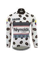 Brand New Team Reynolds Vuelta 89 Fleece Thermal cycling Long Sleeve Jersey