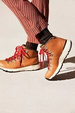"""Danner Mountain 600 Hiking Boots 4.5"""" Saddle Tan Womens Size 10 New"""