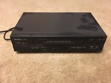 Sharp Vc-A560U 4-Head Hq Vhs Vcr Video Cassette Recorder No Remote
