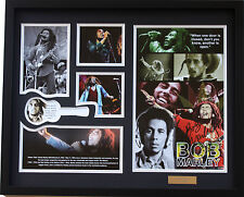 New Bob Marley Signed Limited Edition Memorabilia Framed