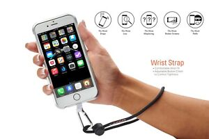 Universal Phone Holder For Neck/Gear/Wrist/Waist Tether Kit iPhone Samsung Blac
